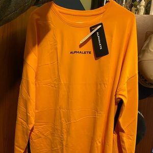 Alphalete Dropped Shoulder Long Sleeve Shirt